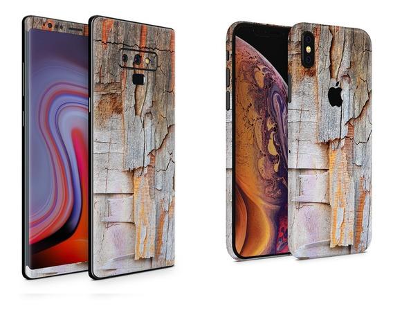 Skin Old Wood Apple Samsung Huawei Lg Sony Xiaomi Etc