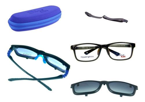 Imagem 1 de 2 de Armação Infantil Flexível - Óculos De Sol E De Grau Sk18130
