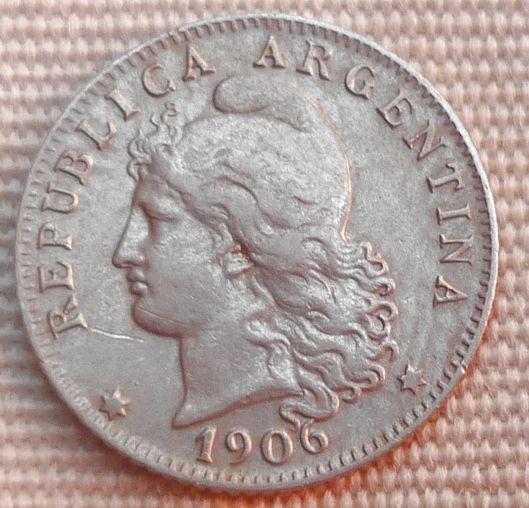 Argentina Moneda 20 Centavos 1906 Excelente + Casi Sc.