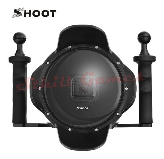 Dome Shoot Gopro Hero 5 6 7 Black Com Suporte Alças Duplas