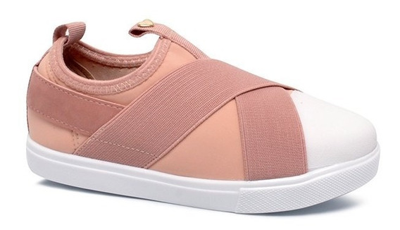 Tênis Infantil Molekinha 2163155 Rosa/branco/rosa