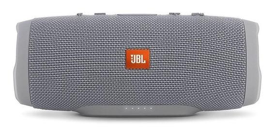 Caixa de som JBL Charge 3 portátil sem fio Grey