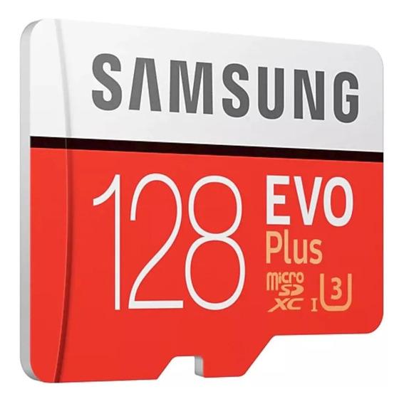 Cartao Samsung Evo Plus Micro Sdxc 100mb/s 128gb Moto Z X