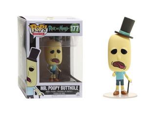 Mr. Poopy Butthole Funko Pop 177 Figura Muñeco Rick & Morty
