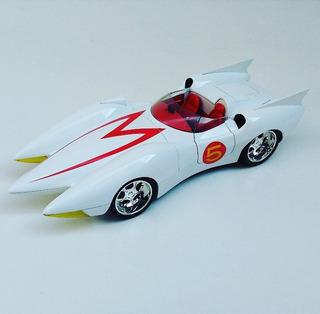 Miniatura Jada Mach 5 Speed Racer - Com Caixa - Escala 1:18