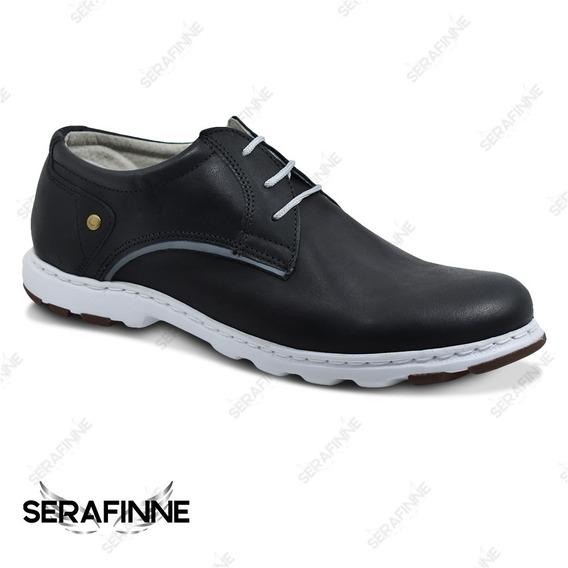 Zapato Zapatilla Urbano Hombre Careva Cuero 4026