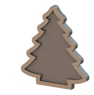 Arbolito De Navidad Simple Vector Corte Láser