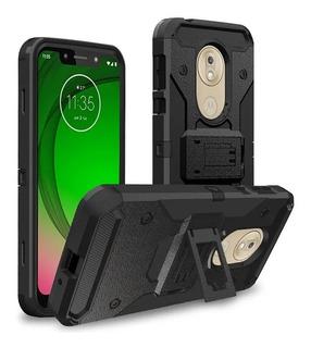 Capa Case Motorola Moto G7 Play Xt1952 5.7 Pol +pelic. Vidro
