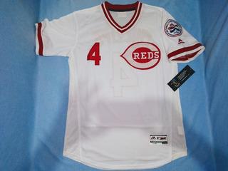 Jersey Beisbol Reds Cincinnati Brandon Phillips (mediana)