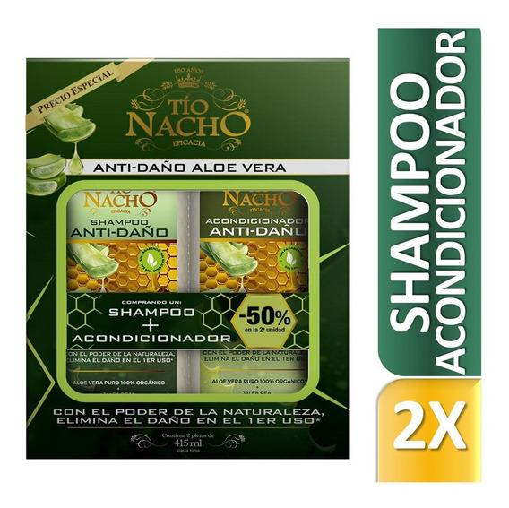 Tio Nacho Promo Shampoo + Acondicionador Aloe Vera 415 Ml