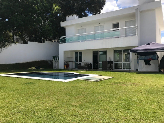 Linda Casa Na Granja Viana 4 Suites Com Piscina - 5 Quartos