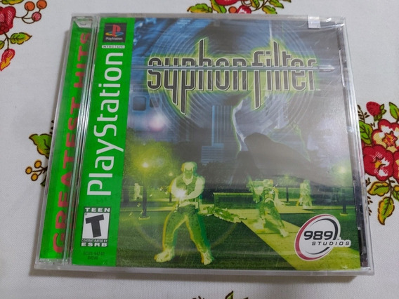 Syphon Filter Original Lacrado Playstation One Ps1