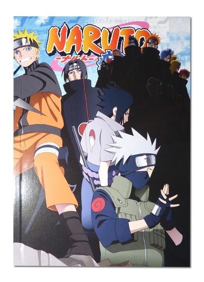 Livro Ilustrado Naruto Edição De Colecionador