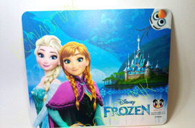 Kit 2 Mouse Pad Frozen Disney ( Anna E Elsa )