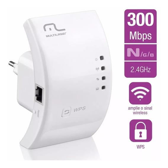 Repetidor De Sinal Tomada Wireless Wi-fi 300mbps Multilaser