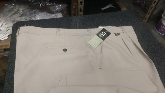 Pantalon De Vestir Talle Especial 60. Tela Mecano Tropical