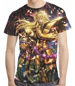 Camisa Cavaleiros Do Zodiaco Camiseta Shaka De Virgem Hd