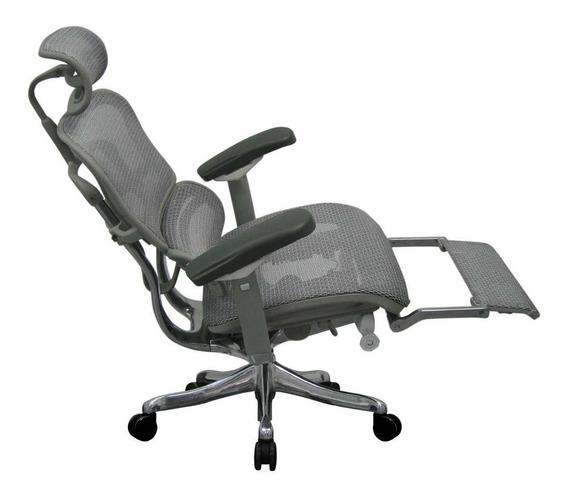 Cadeira Ergonômica Ergoman Luxury Com Descanso/perna