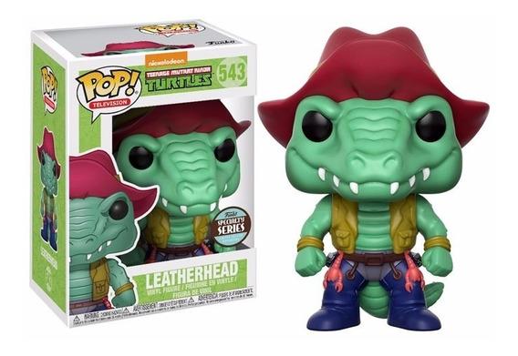 Funko Pop: Tartarugas Ninja - Crocodilo Multante Leatherhead