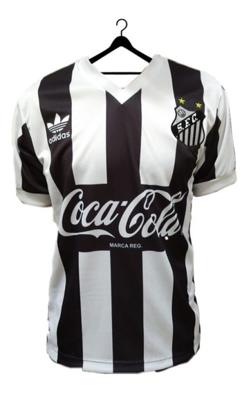 Camisa Santos Retrô Anos 80 Listrada