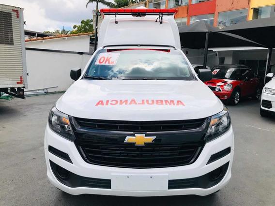 Chevrolet S10 4x4 Ambulância Suporte Basico - 0km