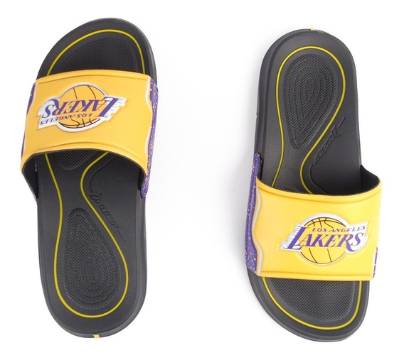 Chinelo Masculino Rider Nba Los Angeles Lakers Basquete