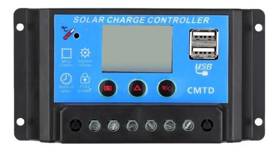 Controlador De Carga Energia Solar Pwm 20a