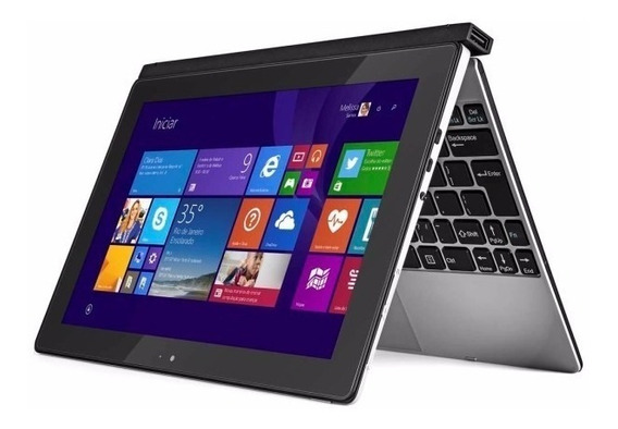 Notebook Tablet Positivo Duo 10 Touch 16gb Ssd Mostruário Nf