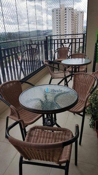 Apartamento De 157m2 No Esplanada Resort Com 4 Suítes - Ap1456