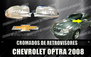 Cobertor Cromado De Retrovisores Optra 2004 Al 2008