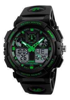 Reloj Skmei 1270 S Shock Digital Deportivo Hombre Sumergible