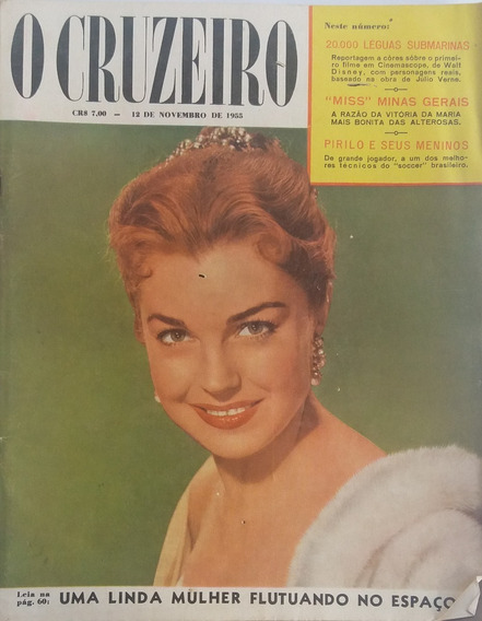 Revista O Cruzeiro 1955 Final Do Concurso Miss Minas Gerais