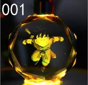 Chaveiro Dragon Ball Z Super Saiyajin Led Colorido Diversos