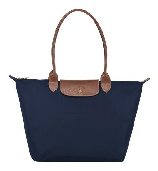 Le Pliage Bolso Shopper L Azul Oscuro, Longchamp