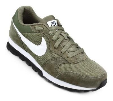 Tênis Nike Runner 2 Fa 18 Verde Com Branco