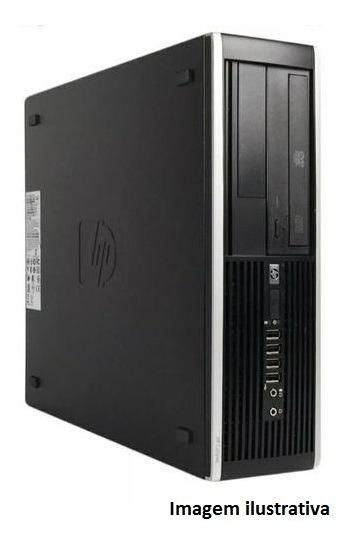 Computador Hp Dualcore 4gb Ddr3 500gb - Seminovo