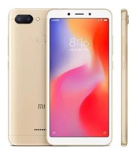 Smartphone Xiaomi Redmi 6 64gb 4gb Global + Capa Película