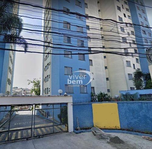 Apartamento Com 2 Dormitórios À Venda, 52 M² Por R$ 180.000,00 - Guaianazes - São Paulo/sp - Ap1300
