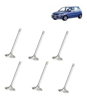 Valvula Escape E Admissao Daihatsu Cuore 3cc 94/98 Jogo 6pçs