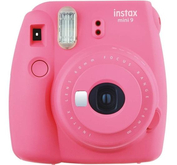 Câmera Fotográfica Fujifilm Instax Mini 9 Rosa Flamingo