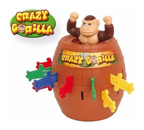 Crazy Gorila Juego De Mesa Original Ditoys Cod 611 Bigshop