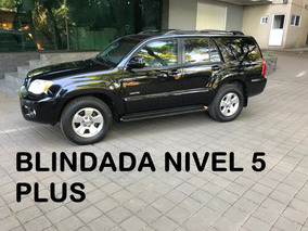 Toyota 4 Runner V8 Blindada Nivel 5 Plus 2007 (impecable)