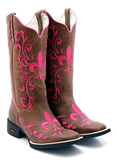 Bota Texana Feminina Bodada 2020 Lançamento Fb53