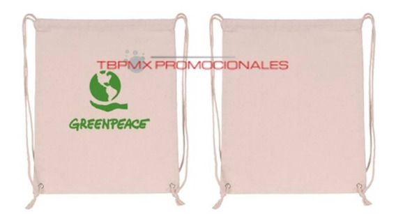 Bolsa Backpack Ecologica Jaretas Algodon Economica Mayorista