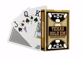 Baralho De Poker Copag Texas Holdem 100% Plástico