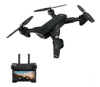 Drone Toysky S169 Con Camara Film Hd 1080 Black Plegable