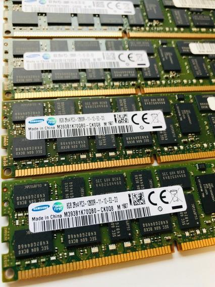 Memoria 16gb Ddr3 Rdimm Server 2x8gb Hp Ibm Dell