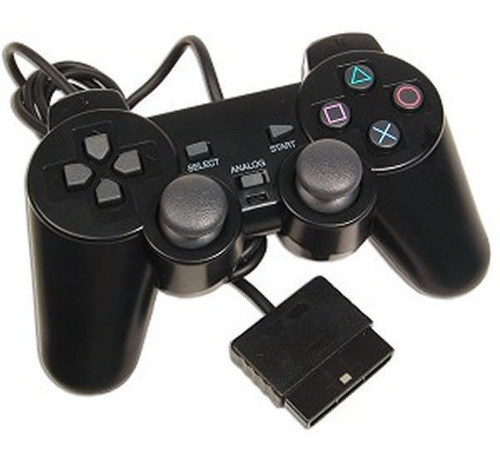 Joystick Ps2 Control Mando Playstation 2 Con Cable Vibracion