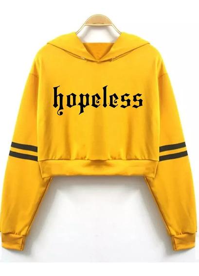 Buzo Halsey Hopeless Moda Temporada Corto Logo Pupera