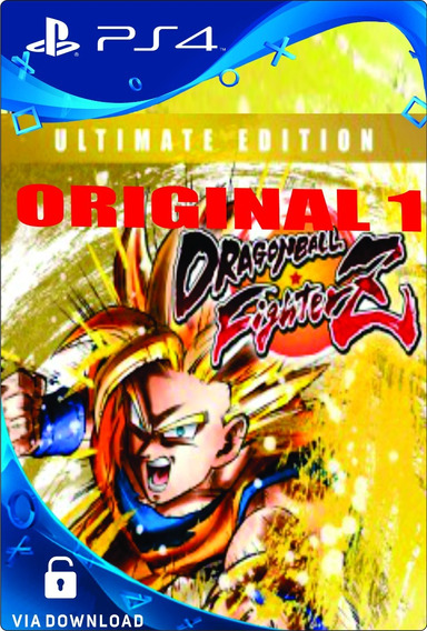Dragon Ball Fighterz Ultimate Edition Ps4 Psn Digital Cod-1!